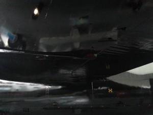 Fittich - geborgen im Schutze des Flügels einer B52. Der militärisch-industrielle Komplex bietet neue Möglichkeiten