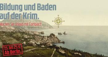 Baden für den Frieden: Am Montag startet die erste COMPACT-Leserreise