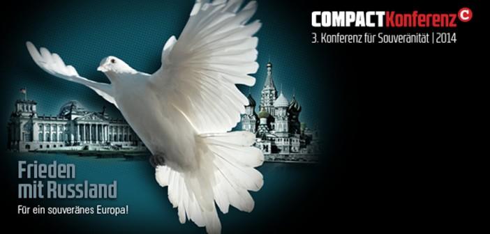 3. COMPACT-Konferenz: Für den Frieden