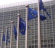 EU-Fahnen in Brüssel. / Bild: Amio Cajande; CC BY-SA 2.0