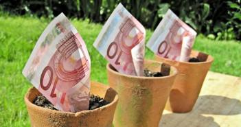 10-Euro-Scheine. / Bild: Images Money; CC BY 2.0
