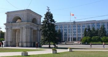 Regierungspalast in der moldauischen Hauptstadt Kischinau. / Bild: Martin Müller-Mertens