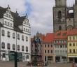Marktplatz von WIttenberg. / Bild: Cethegus