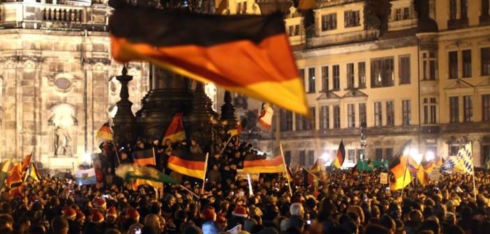 Foto Dresden 5.1.2015; Foto: ruptly