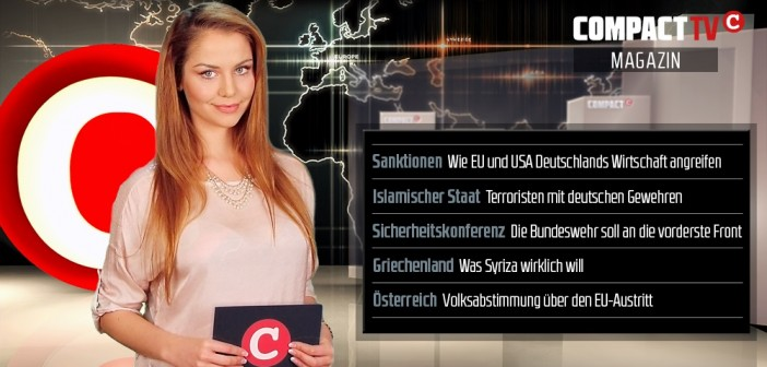 COMPACT-TV Magazin: Krieg gegen die deutsche Wirtschaft