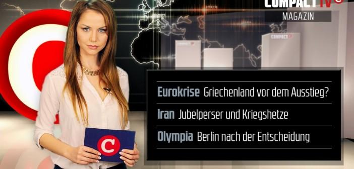 Das neue COMPACT-TV Magazin: Griechenland vor dem Euro-Aus?