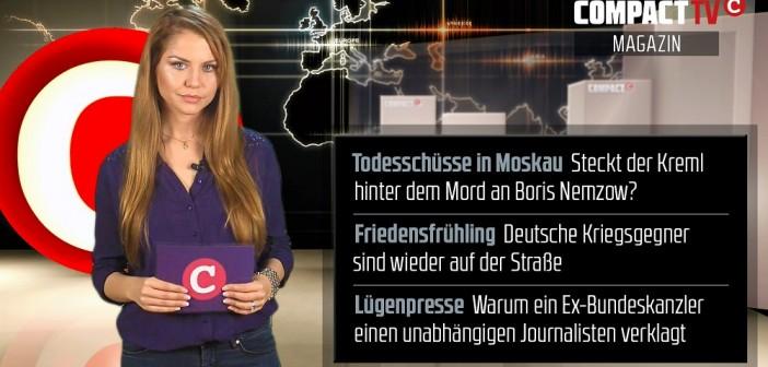 COMPACT-TV Magazin: Kugeln gegen Putin – Ein Mord, ein Krieg und die Friedensbewegung