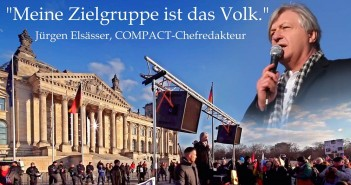 Elsässer spricht beim 1. Alternativen Wissenskongress in Witten / NRW