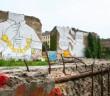 Foto: Ohuizinga.  Streetart in Berliner Cuvrybrache aus Protest übermalt