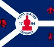 Flagge von Fort Wayne, Indiana (Bild: Dyfsunctional)