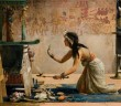 John R. Weguelin: The Obsequies of an Egyptian Cat, 1886