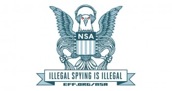 EFF NSA logo parody sticker (Bild: Flickr)