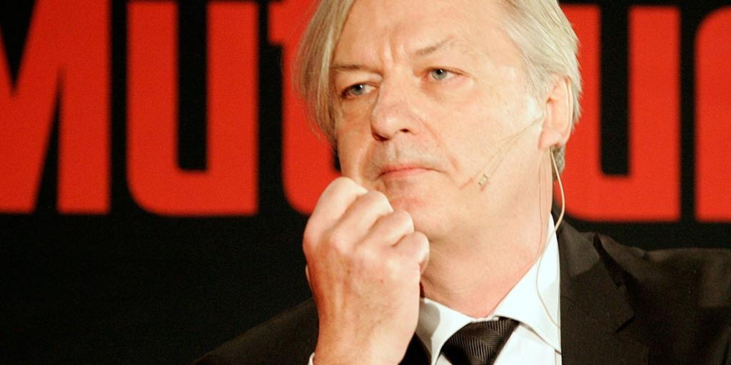 Jürgen Elsässer – Chefredakeur von COMPACT – meint es Ernst