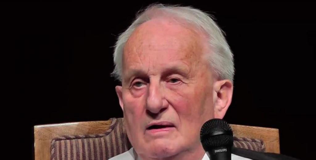 Der Dramatiker und Schriftsteller Rolf Hochhuth - einer der letzten mutigen Intellektuellen unseres Landes. Foto: Michael Jeinsen.