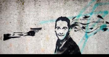 Knallharter Politstreit: Graffiti über Heinz C. Strache (Foto: beob8er, flickr)