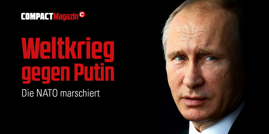 Weltkrieg gegen Putin – Die NATO marschiert