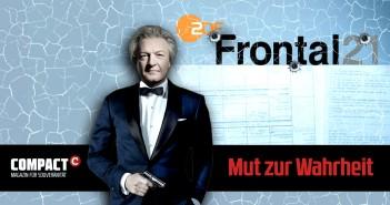 ZDF-Frontal21 schießt gegen COMPACT - ein Schuss in den Ofen