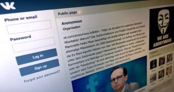 Die neue Anonymous Seite auf VKontakte freut sich über regen Zulauf: Nach wenigen Tagen folgen bereits 25.000 Unterstützer.