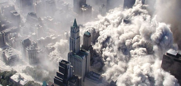 Implosion des World Trade Centers am 11. September 2001, Foto: SN/EPA
