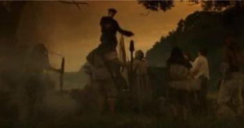 Müntzer predigt den Bauern vom Aufstand (Screenshot youtube)