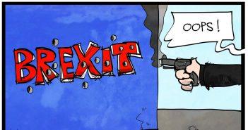Eine Karrikatur über die Politisierung des Mordes an Mrs. Cox (Foto: picture alliance / dieKLEINERT.de)