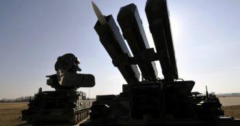 Missile-System 2K12 - KUB (NATO code: SA-6 GAINFUL) am Militärflughafen Pardubice, Tschechien, 2012. (c) dpa
