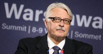 Der polnische Außenminister Witold Waszczykowski. picture alliance/dpa