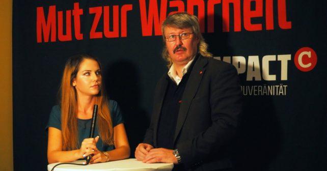 Vorab-Interview: COMPACT-TV-Moderatorin Katrin Ziske mit dem Philosophen Peter Feist