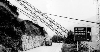In der Nacht auf den 12. Juni 1961, wurden in Südtirol 37 Strommasten sowie andere Einrichtungen in die Luft gesprengt. (c) picture alliance / APA