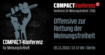 COMPACT-Konferenz 2016: Jürgen Elsässers Rede