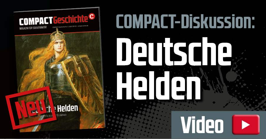 Heftvorstellung Compact-Geschichte 2 Deutsche Helden
