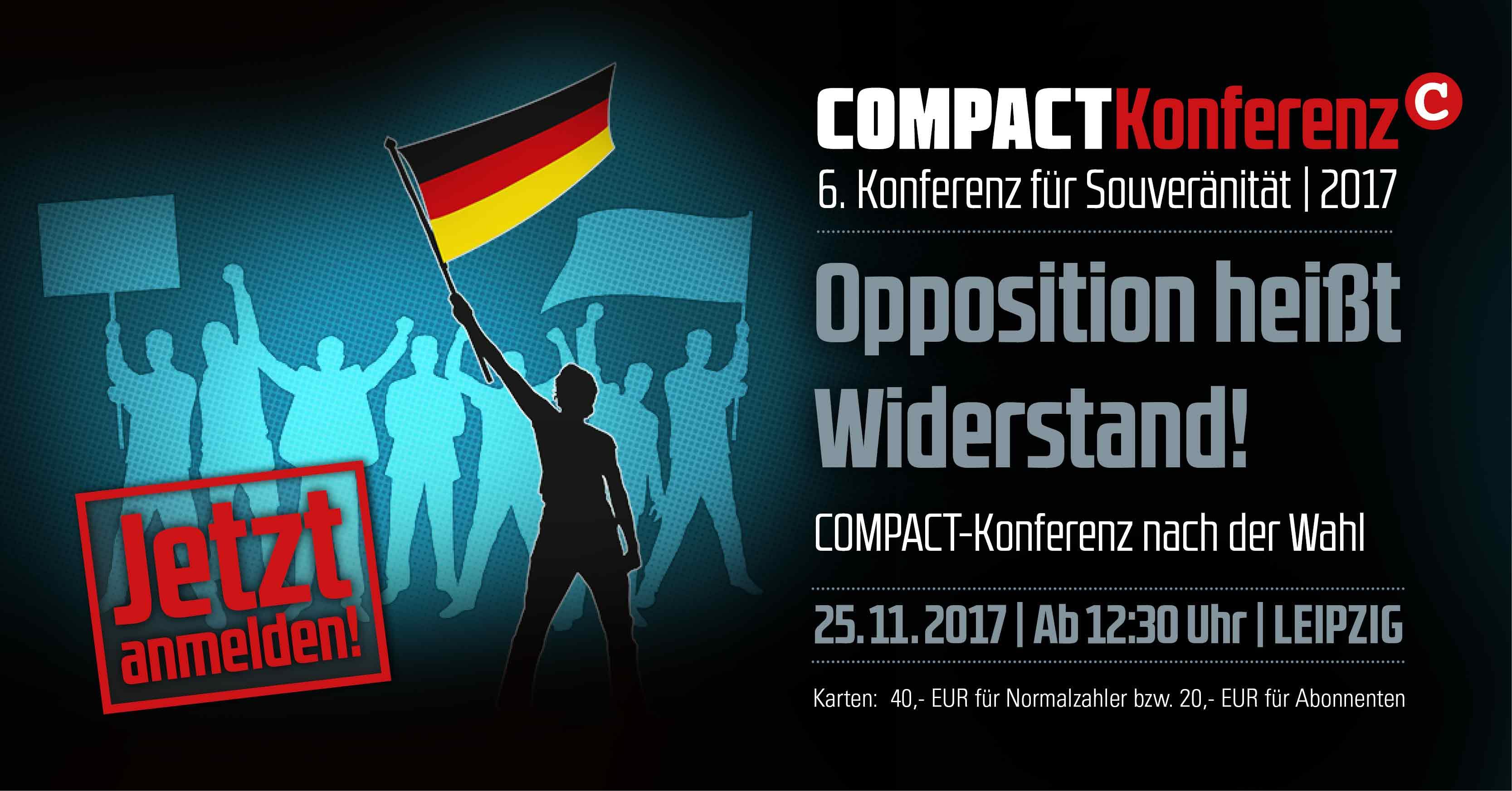 6. COMPACT-Konferenz für Souveränität 2017