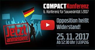 Compact-Konferenz Leipzig 25.11.2017, Widgetbanner