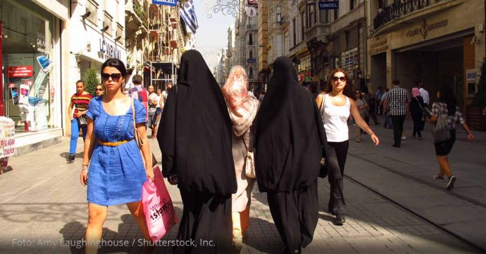 burka straße niqab