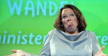 Andrea Nahles (SPD). (c) dpa