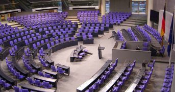 Bundestag Plenarsaal