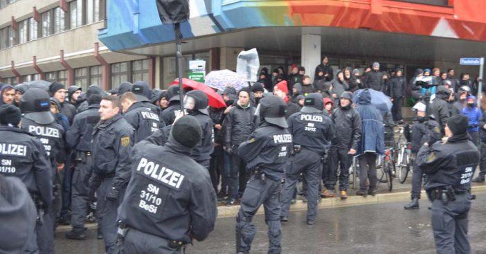 Konferenz 2017 antifa Polizei