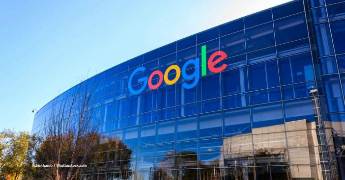 Google Konzern Fassade