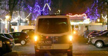 Polizeifahrzeug Potsdam