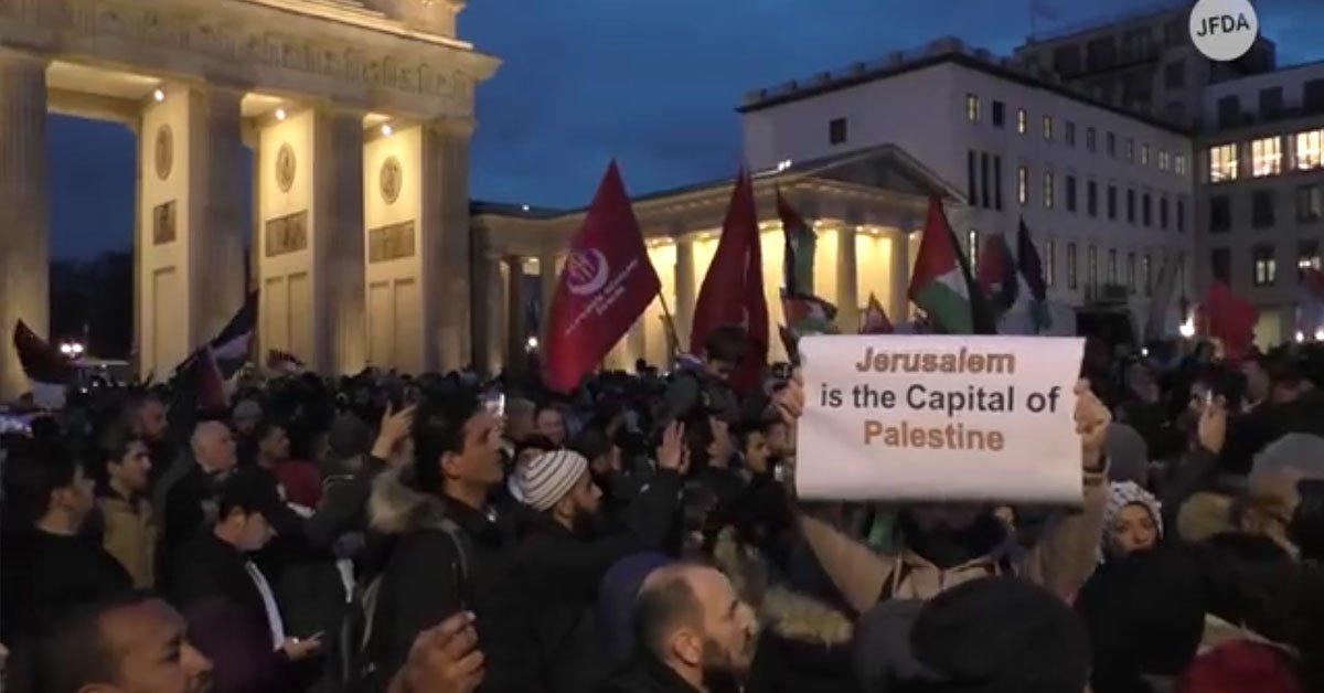 Demonstration Israel Berlin