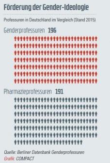 Gender-Professuren Grafik