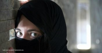 Burka Frau