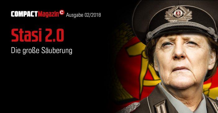 Compact-Magazin Februar 2018 Stasi 2.0