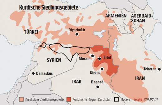 kurdische siedlungsgebiete grafik