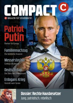 Patriot Putin COMPACT-Magazin 03/2018 Patrion Putin – Partner für Europa