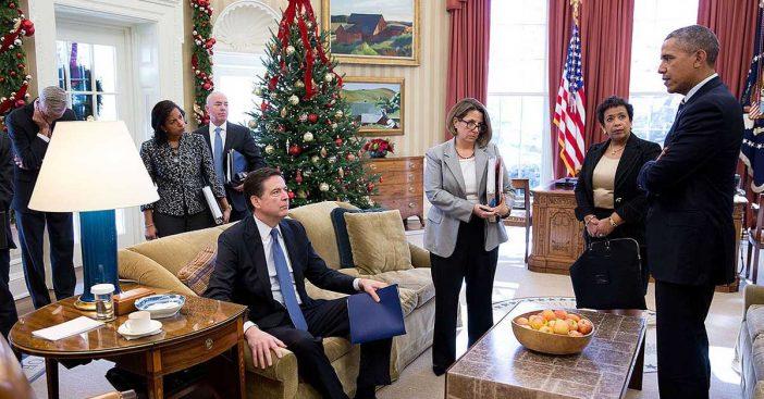 james comey loretta lynch barack obama oval office