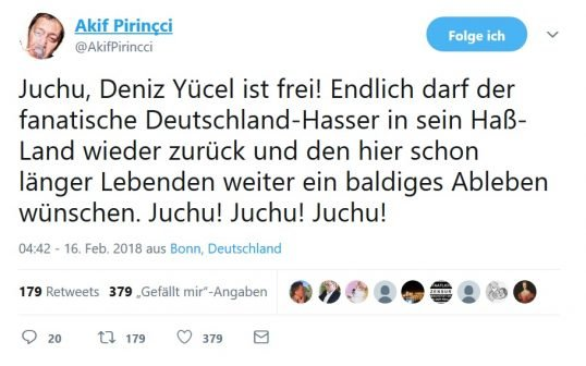 pirincci jücel twitter