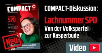Lachnummer SPD, COMPACT-Magazin April2018
