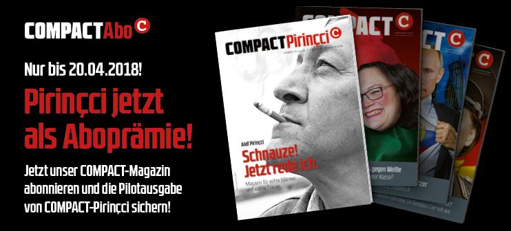 COMPACT-Pirincci als Aboprämie