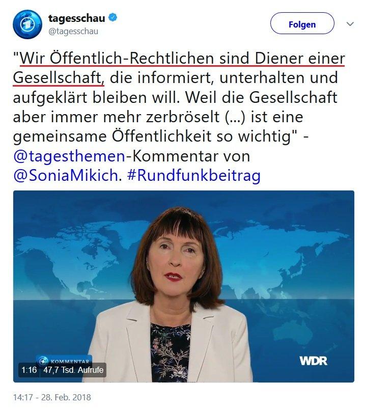 Sonia Mickich Lügenpresse